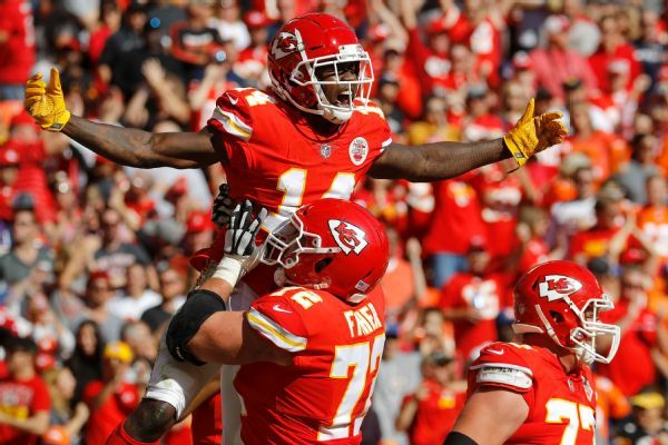 Even as a lesser option, Sammy Watkins would come to the Chiefs again