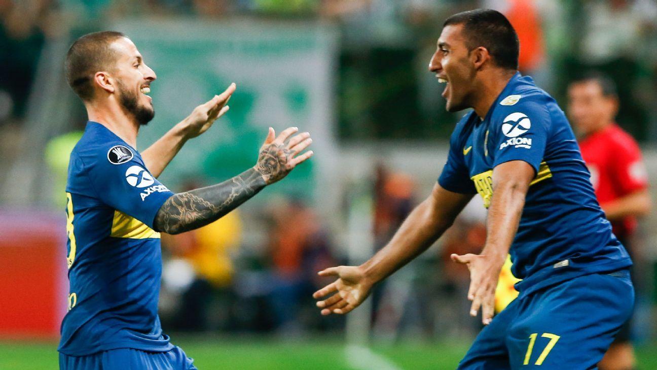 Boca Juniors beat Palmeiras on aggregate, book first-ever Superclasico Copa Libertadores final