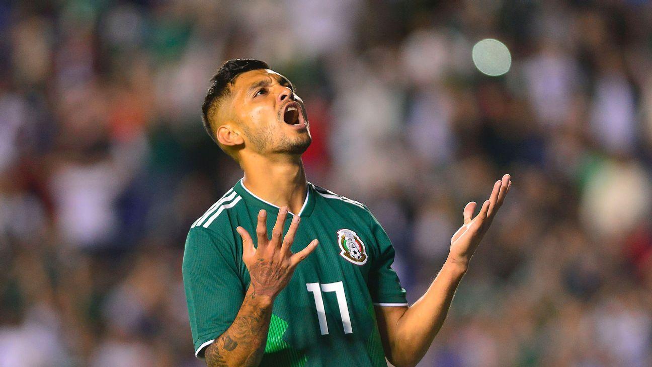 Mexico boss 'Tata' Martino left fuming over Jesus Corona absence