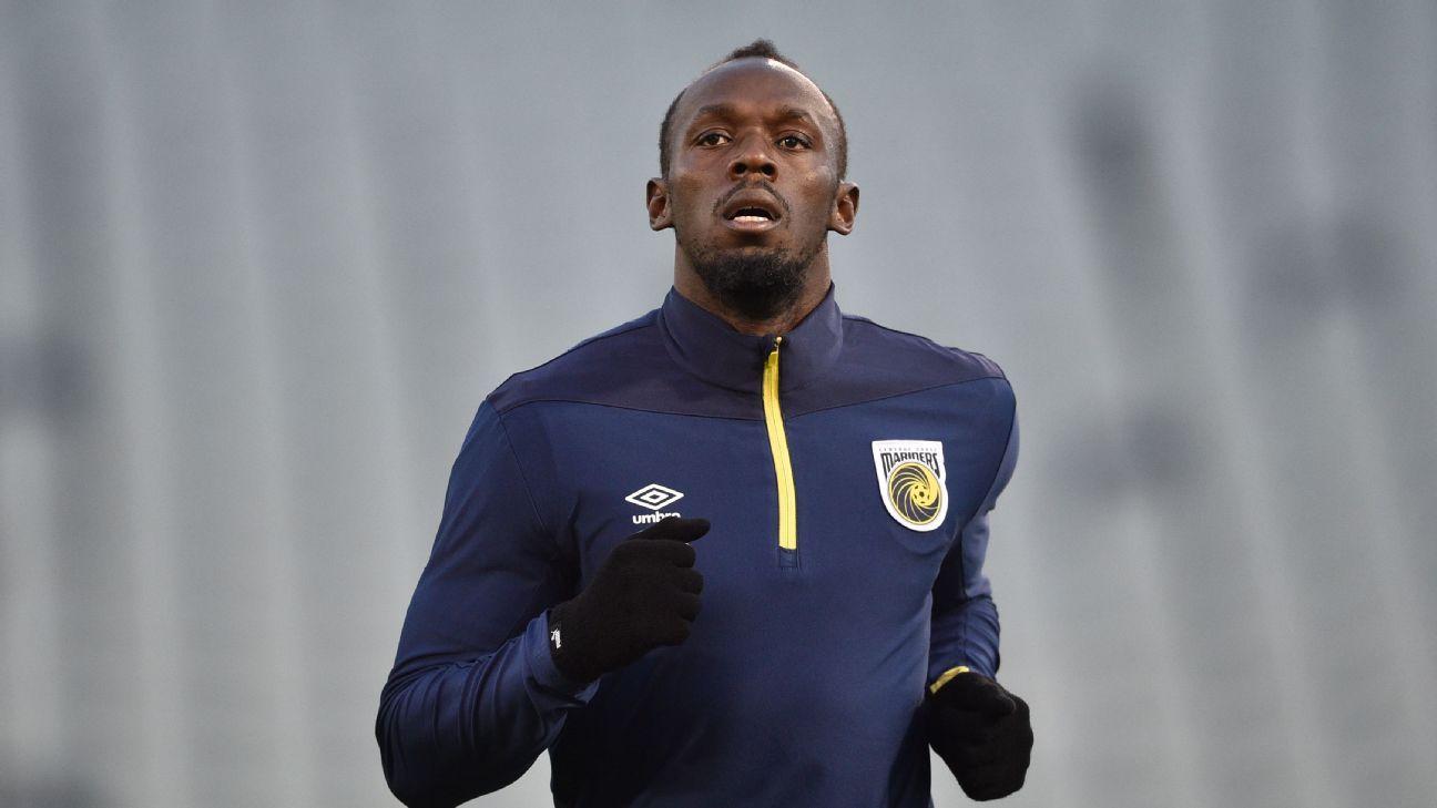 """Usain Bolt termina su aventura en el futbol: """"Fue divertido mientras duró"""""""
