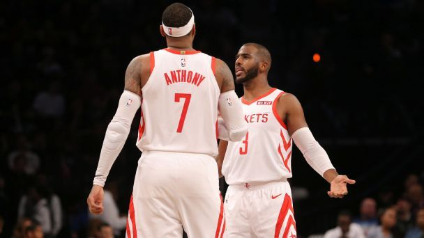 Injuries, a suspension and more Melo-drama: Unpacking Houston's odd opening month