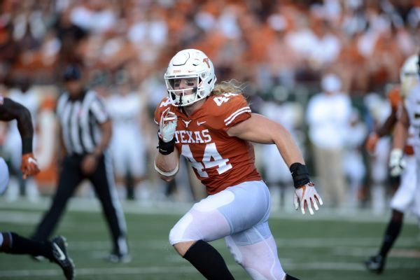 Big 12 reprimands Texas' Breckyn Hager for dig at OU