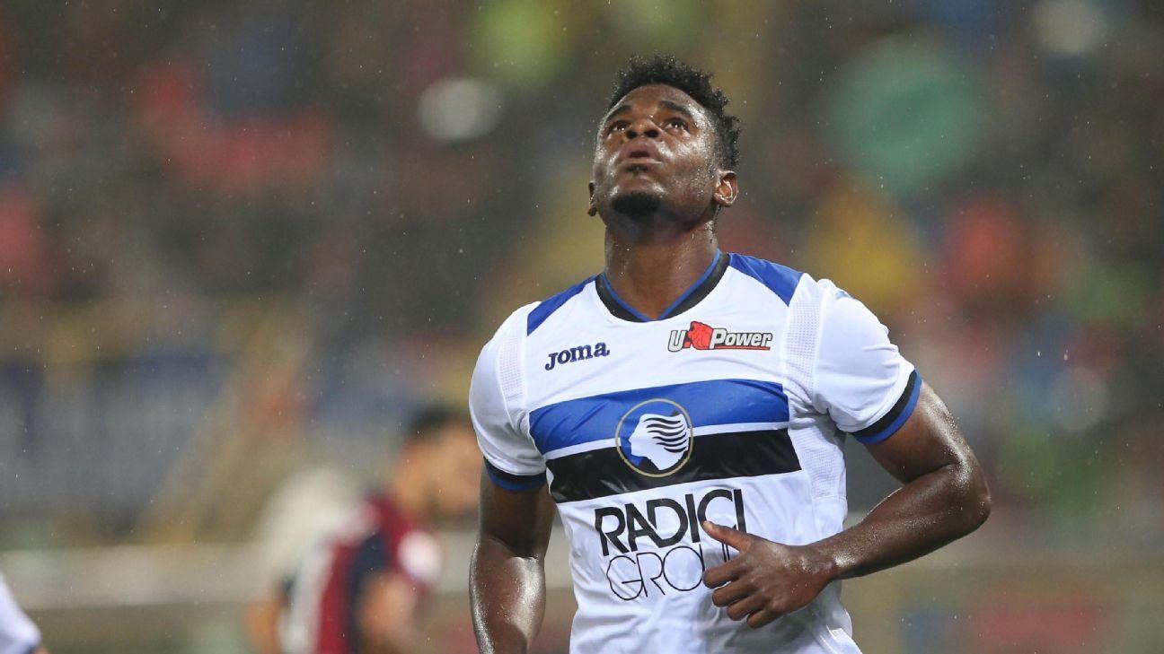Duván Zapata registra una racha goleadora que supera a Falcao y Bacca