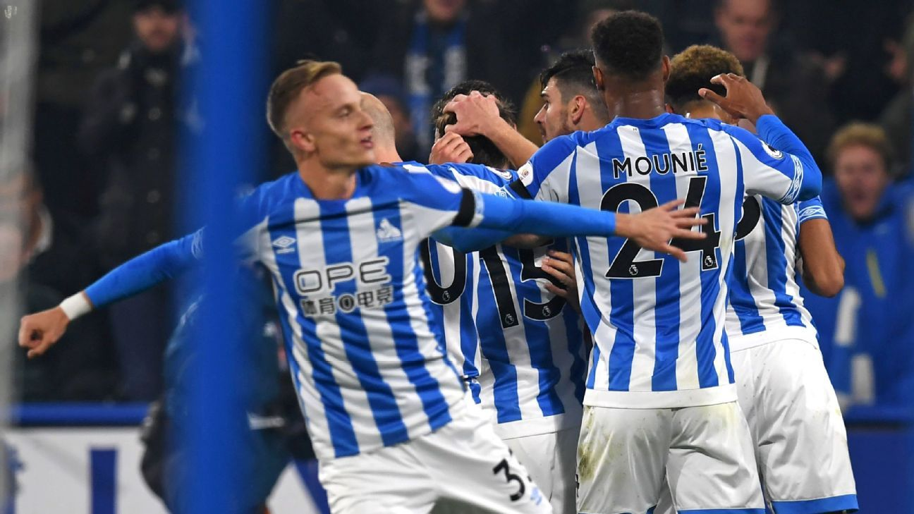 Huddersfield edge Fulham to grab first Premier League win of season