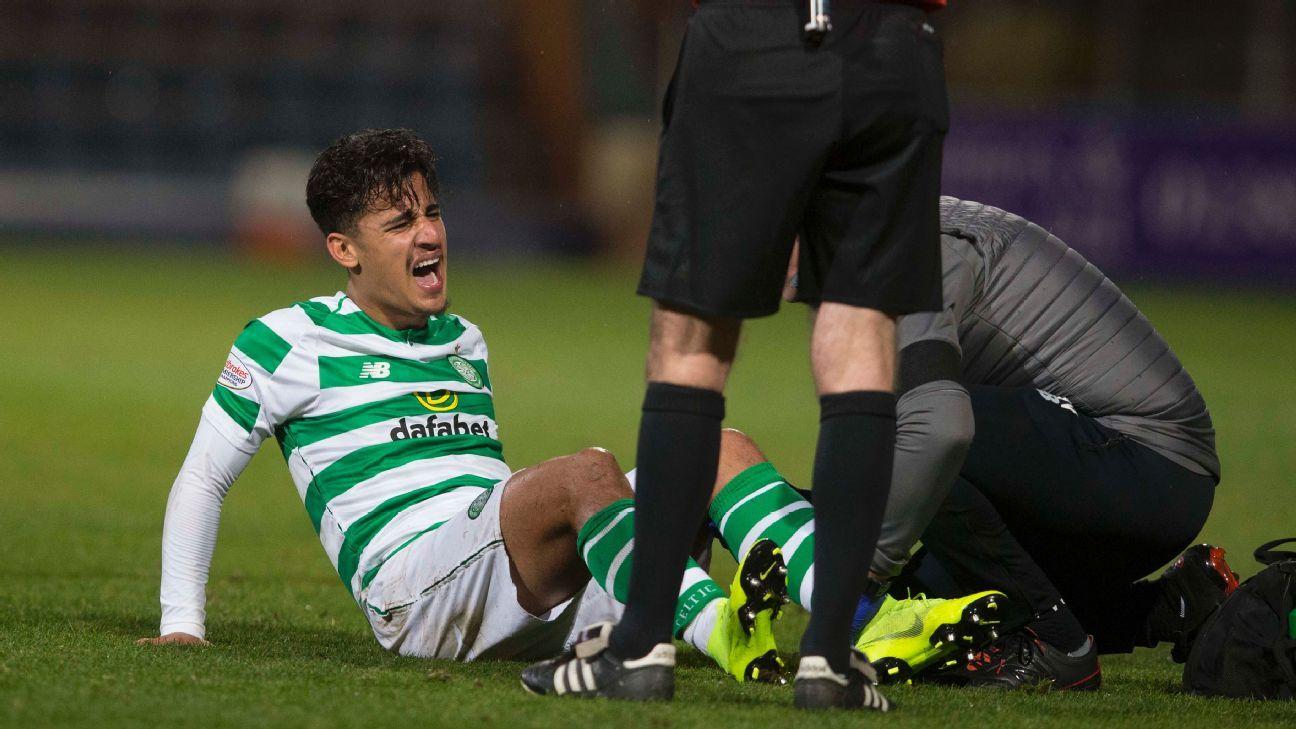 Celtic loanee Daniel Arzani confirms torn anterior cruciate ligament