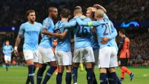 Manchester City hammer Shakhtar Donetsk as Gabriel Jesus scores hat trick