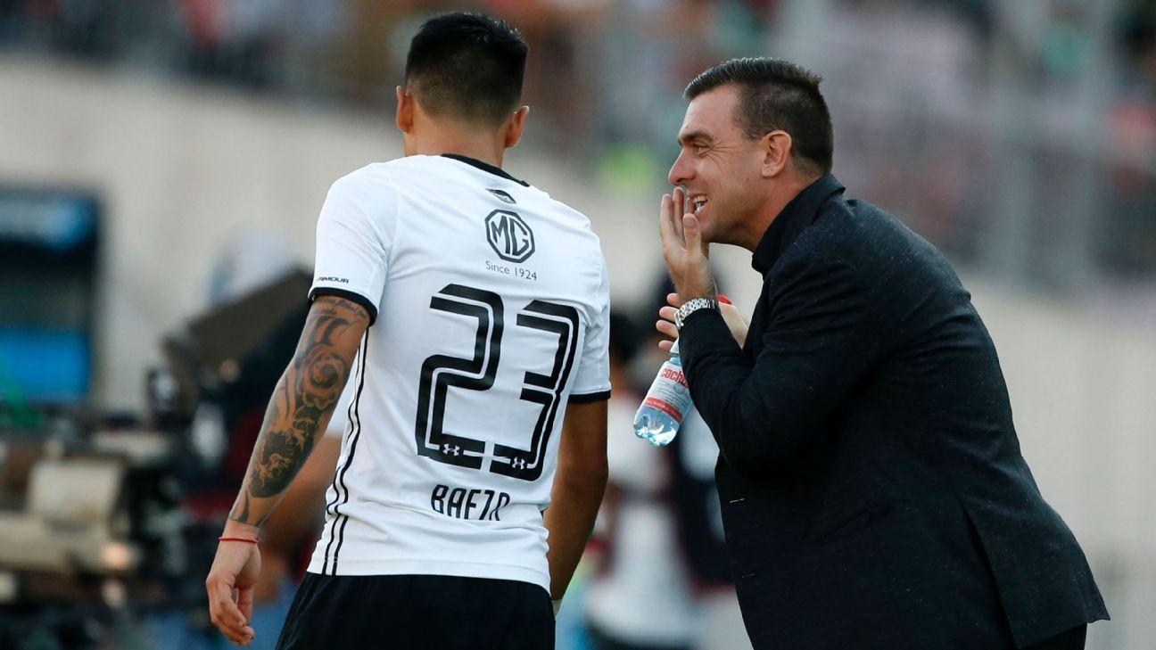 """Baeza: """"Me voy feliz de haber ganado títulos y haber sido capitán de Colo Colo"""""""
