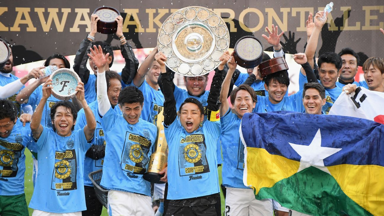 Kawasaki Frontale win back-to-back J.League titles after Sanfrecce Hiroshima collapse