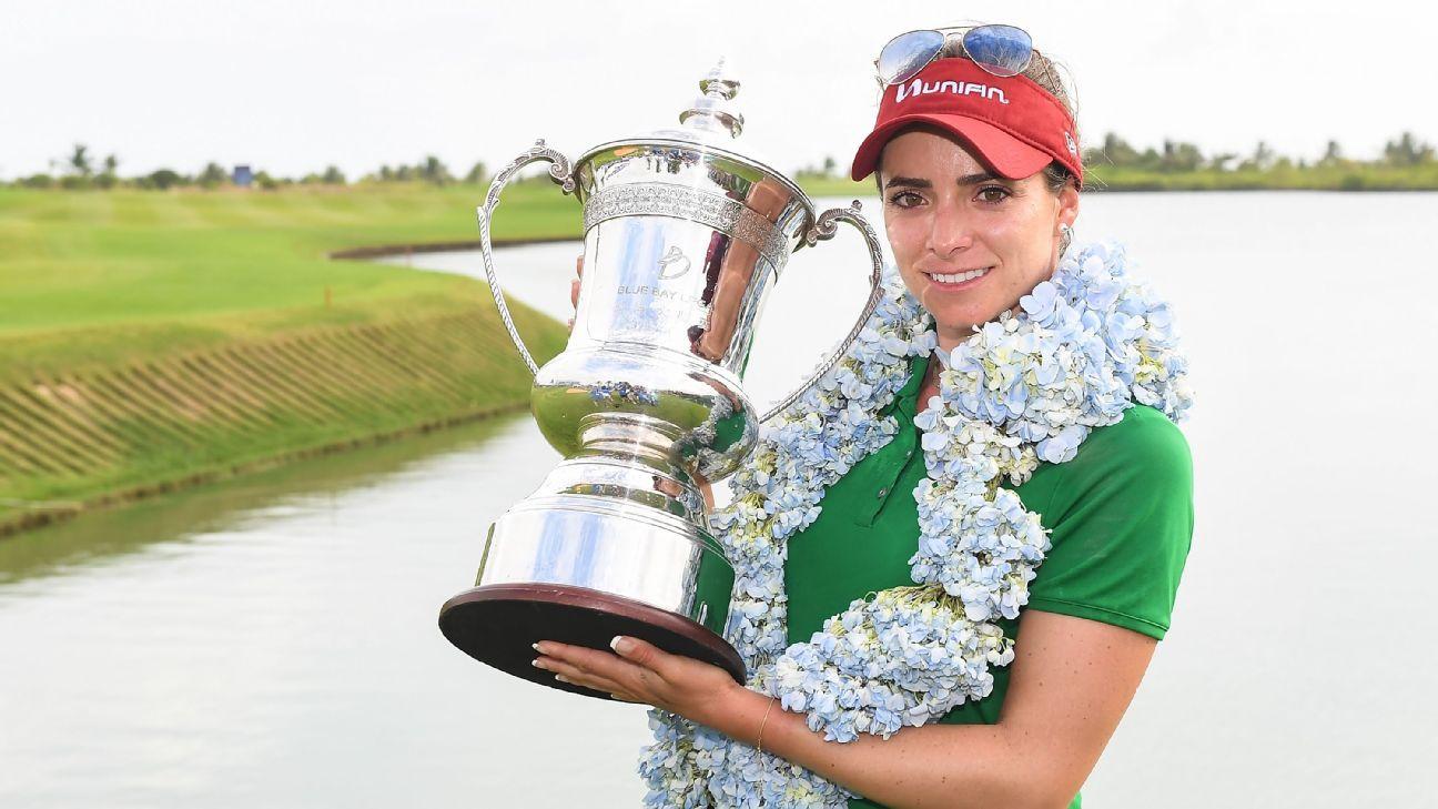 Gaby López, la segunda mexicana después de Lorena Ochoa en ganar un torneo de LPGA