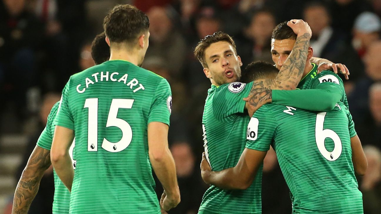 Watford's Jose Holebas strikes late to deny Southampton victory