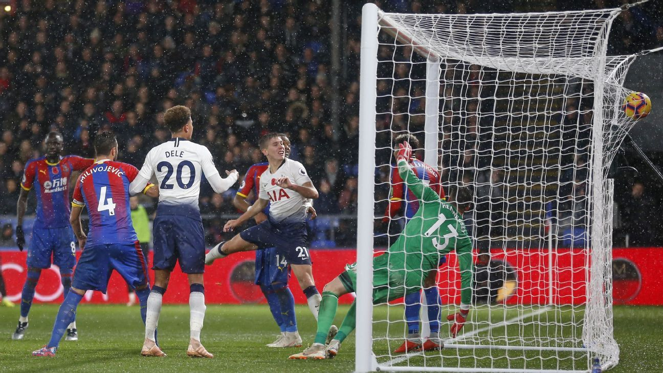 Juan Foyth's header gives Tottenham Hotspur win over Crystal Palace