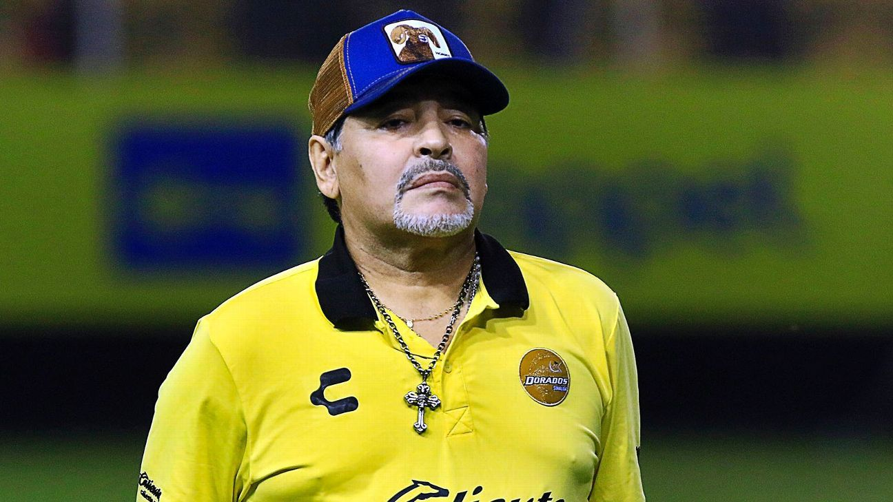 Abren investigación a Maradona por sus declaraciones