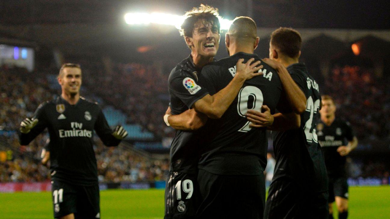 Karim Benzema stars as Real Madrid maintain winning run under Santiago Solari