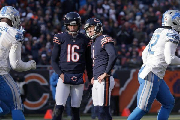 Bears' Cody Parkey to get extra practice at Soldier Field after misses