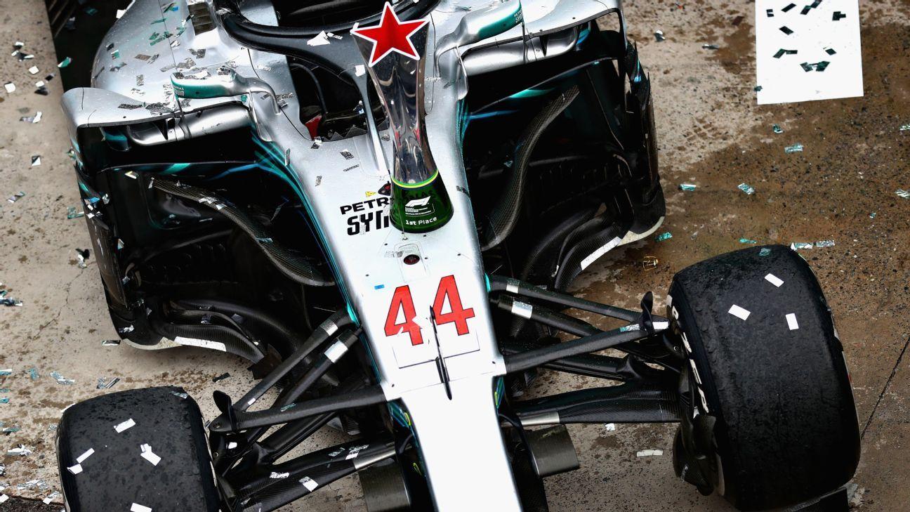 """Lewis Hamilton: """"Es un honor conducir para ellos"""""""