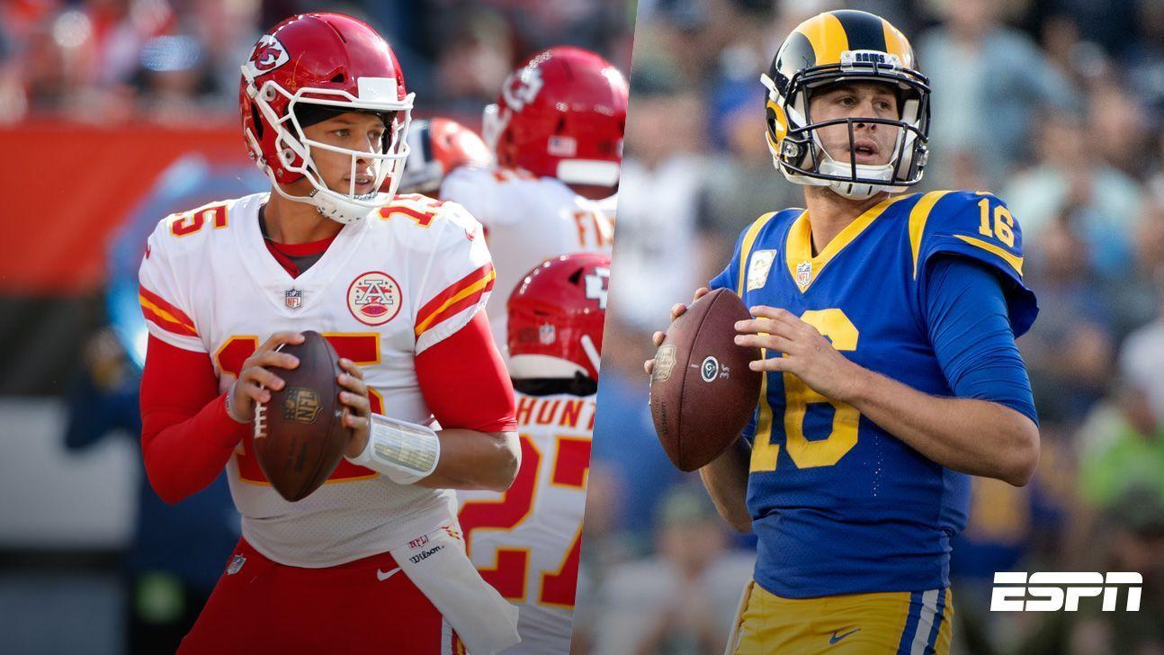 La historia favorece a Rams y Chiefs para llegar al Super Bowl