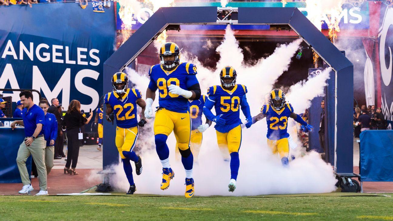 La NFL cambió a horario estelar el partido entre los Rams y Bears