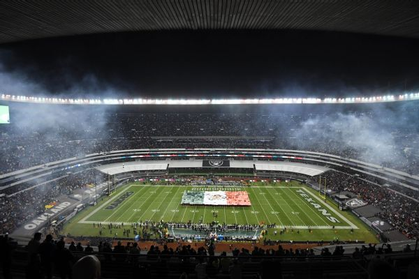 NFL cancels Mexico City trip, moves Chiefs-Rams game to Los Angeles