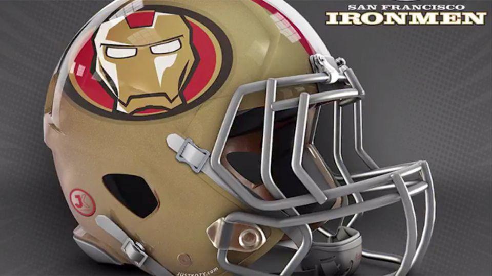 NFL Brasil homenageia Stan Lee com capacetes de todos times inspirados em personagens da Marvel