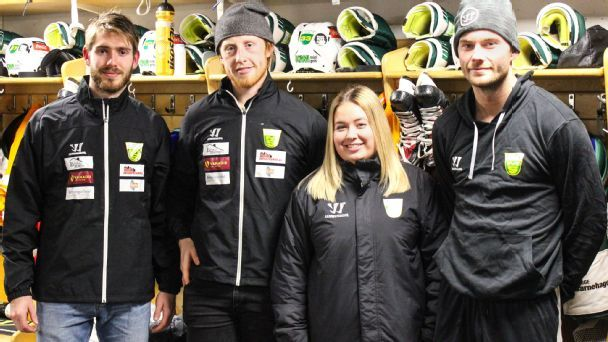 Meet the 24-year-old woman running a men's pro hockey team