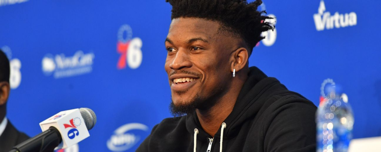 Jimmy Butler espera adaptarse pronto en su presentación oficial con los 76ers