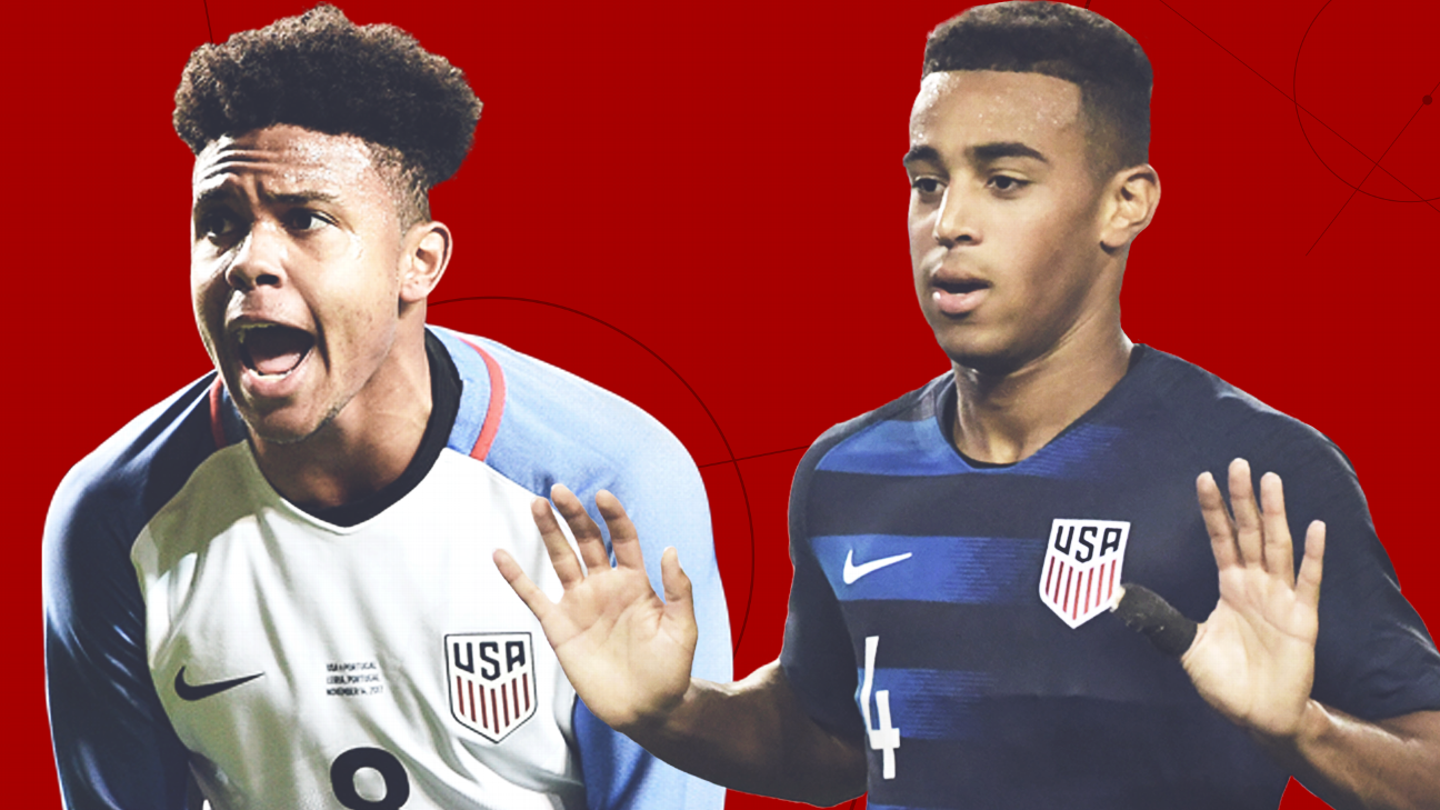 The future of U.S. soccer? You're looking at it right here: Tyler Adams and Weston McKennie