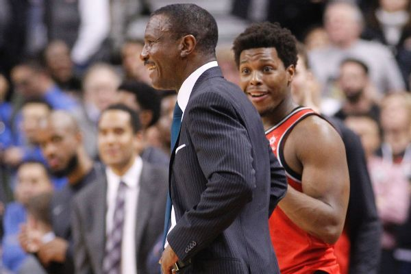 Raptors prepare to welcome back Dwane Casey, now with Pistons