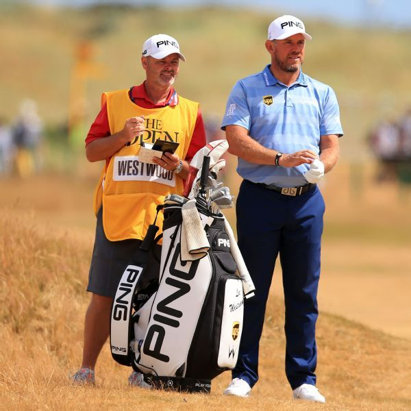 Lee Westwood and caddie Billy Foster split after 10-year run