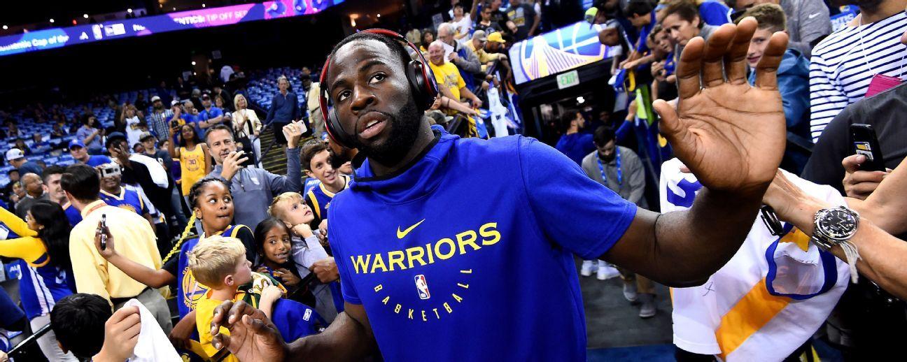 Warriors suspenden un juego a Draymond Green tras discusión