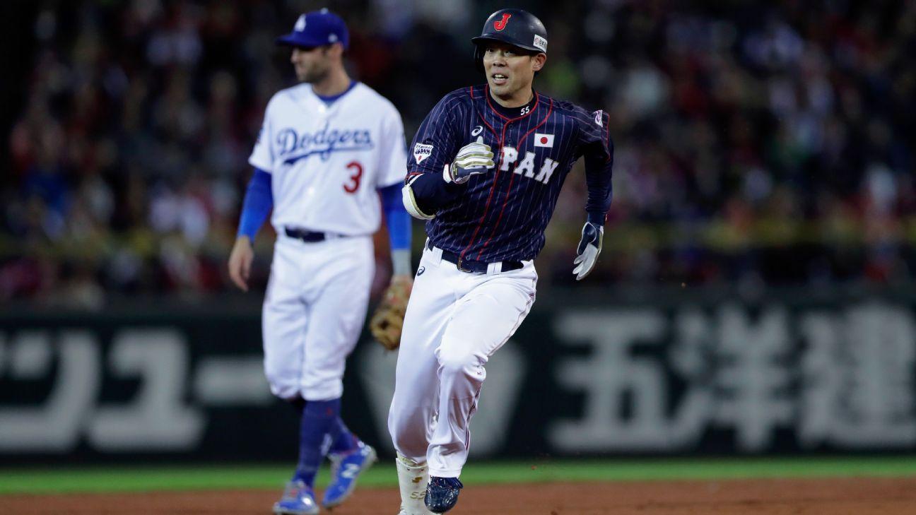 Japón remonta ante Estrellas de MLB y su ventaja crece a 3-1
