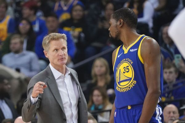 Kevin Durant on Draymond Green incident: 'We're trying to move on'