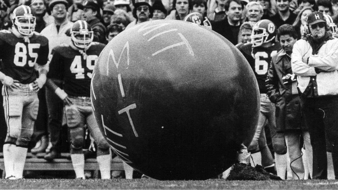 The day MIT won the Harvard-Yale game