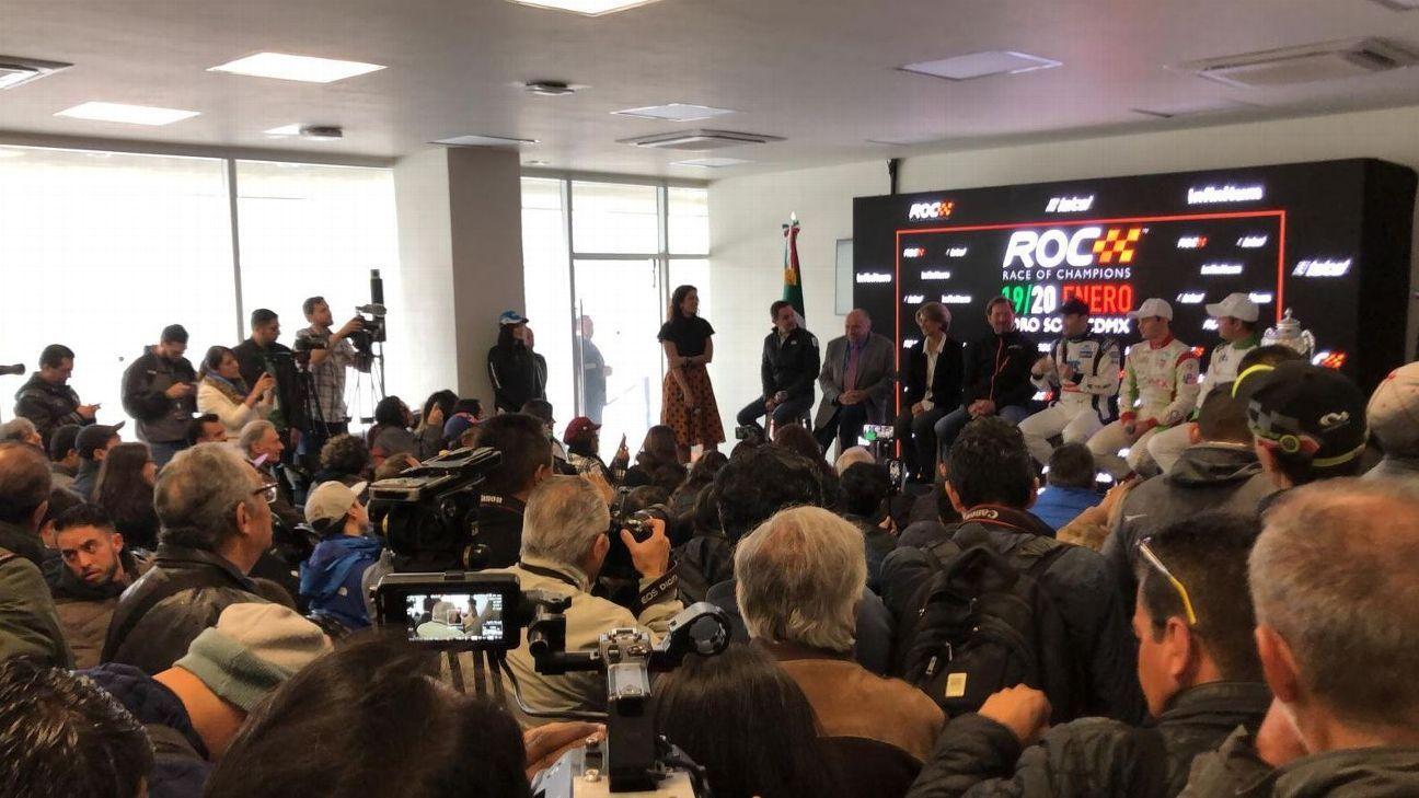 Esperan a 'Checo' y Esteban para Carrera de Campeones en México