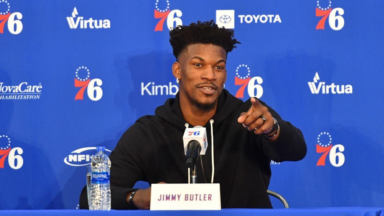 Butler, listo para debutar con 76ers  Fultz, a la banca