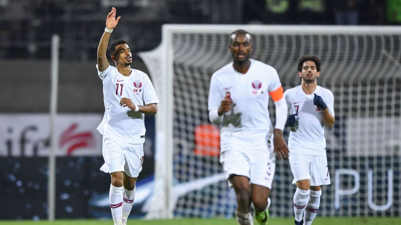 Qatar's Akram Afif scores as 2022 World Cup hosts stun Switzerland
