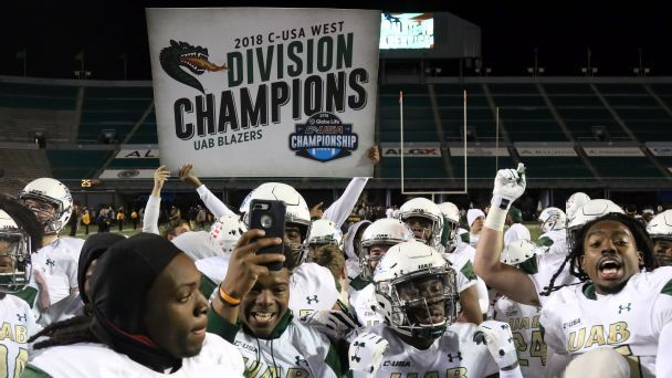 How UAB engineered college football's greatest comeback