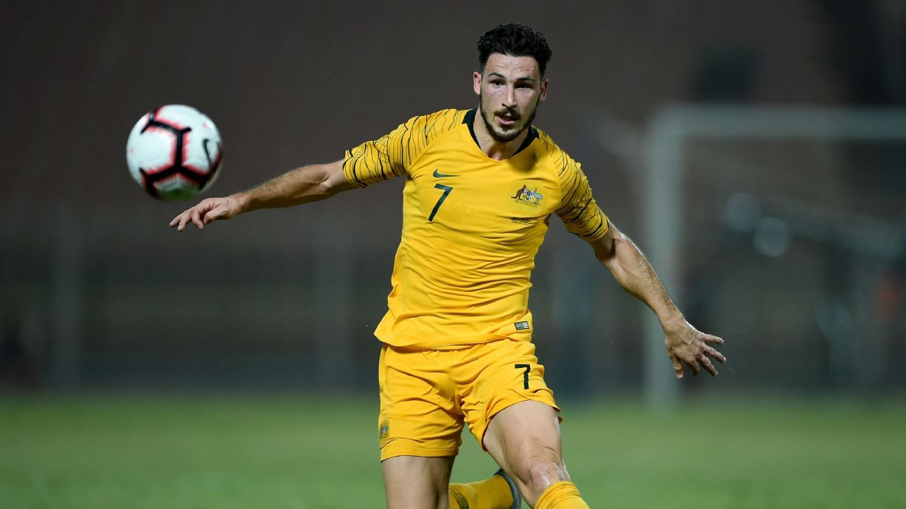 Mathew Leckie puts his hand up for Socceroos captaincy