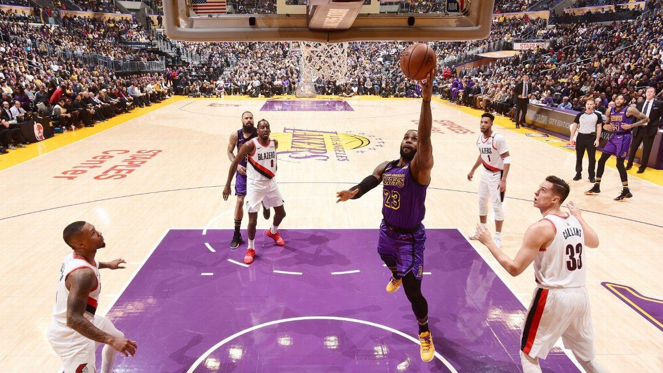 LeBron James, quinto máximo anotador de la historia