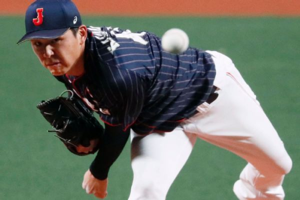 Japan confident for 2020 Games after win over MLB All-Stars
