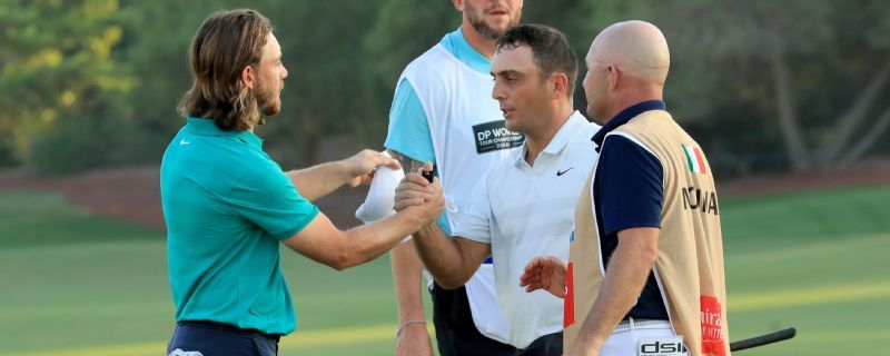 DP World Tour Championship: Francesco Molinari leads Tommy Fleetwood at Dubai season-ender