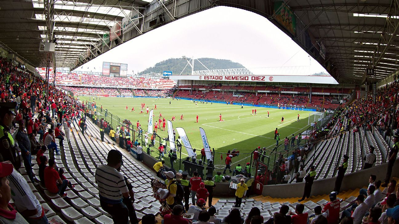 El América-Veracruz se jugará en Toluca por condiciones de la cancha del Azteca
