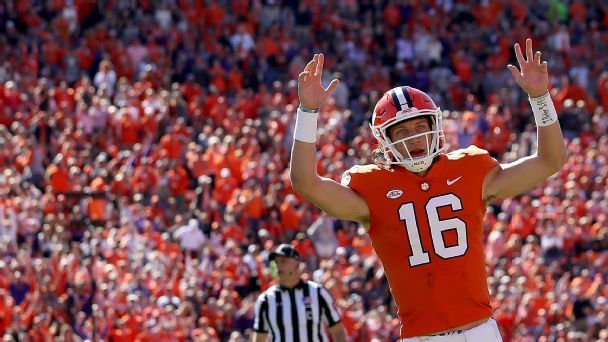 Why Clemson has Peyton Manning to thank for Trevor Lawrence