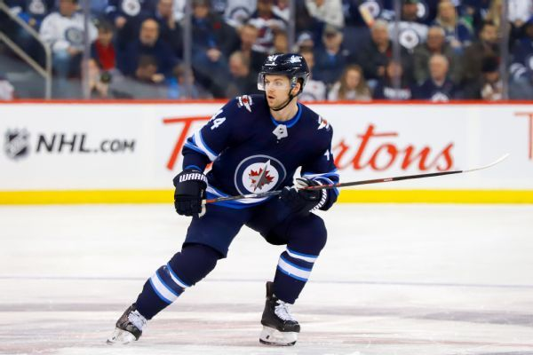 Jets' Josh Morrissey won't be suspended for throwing T.J. Oshie to ice