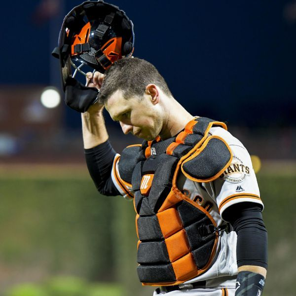 Coming off hip surgery, Giants' Buster Posey could be limited early in season