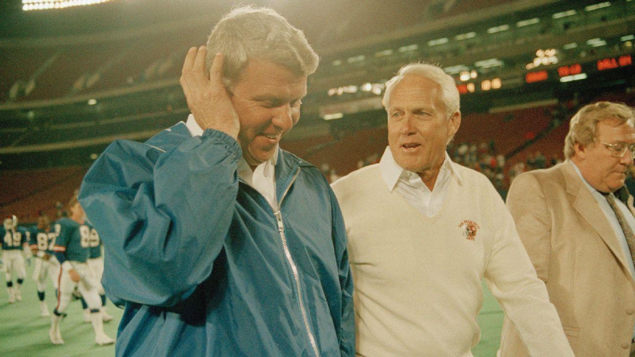 Bill Parcells acusa a Bill Walsh de hacer trampa en los playoffs de 1985