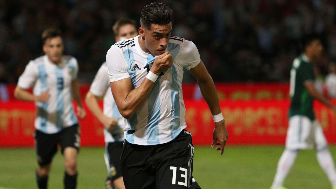 Argentina superó 2-0 a México en amistoso