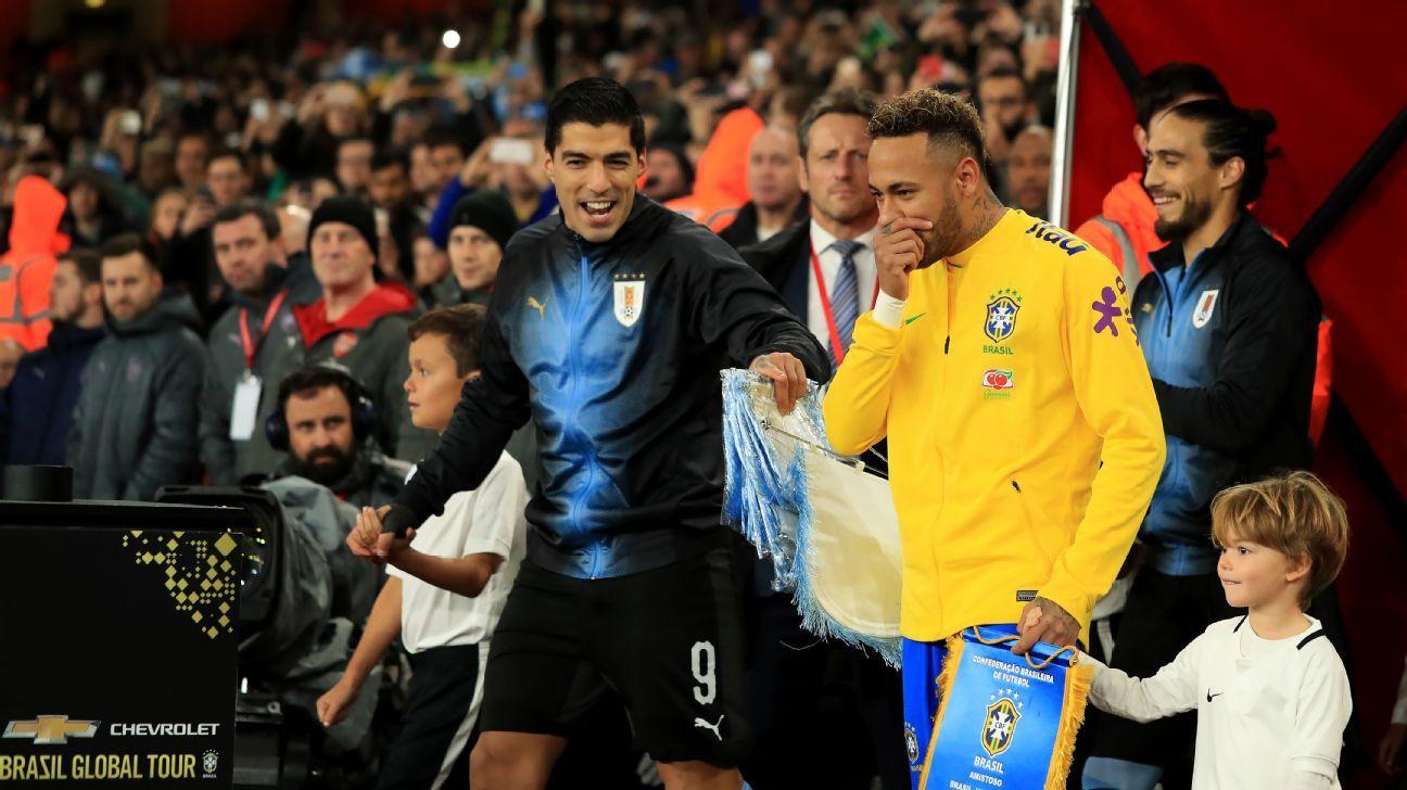 "Neymar: ""A Suárez siempre le deseo lo mejor"""