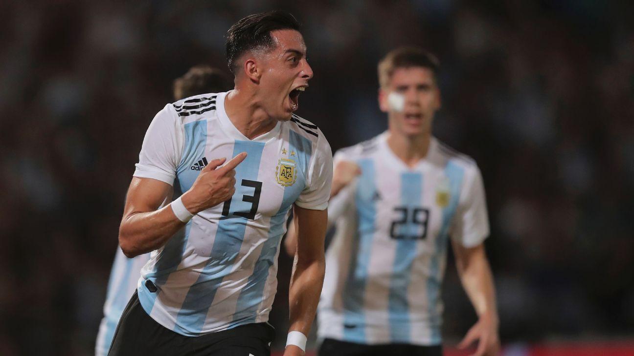 Argentina beat Mexico on Ramiro Funes Mori's header, Isaac Brizuela's gaffe
