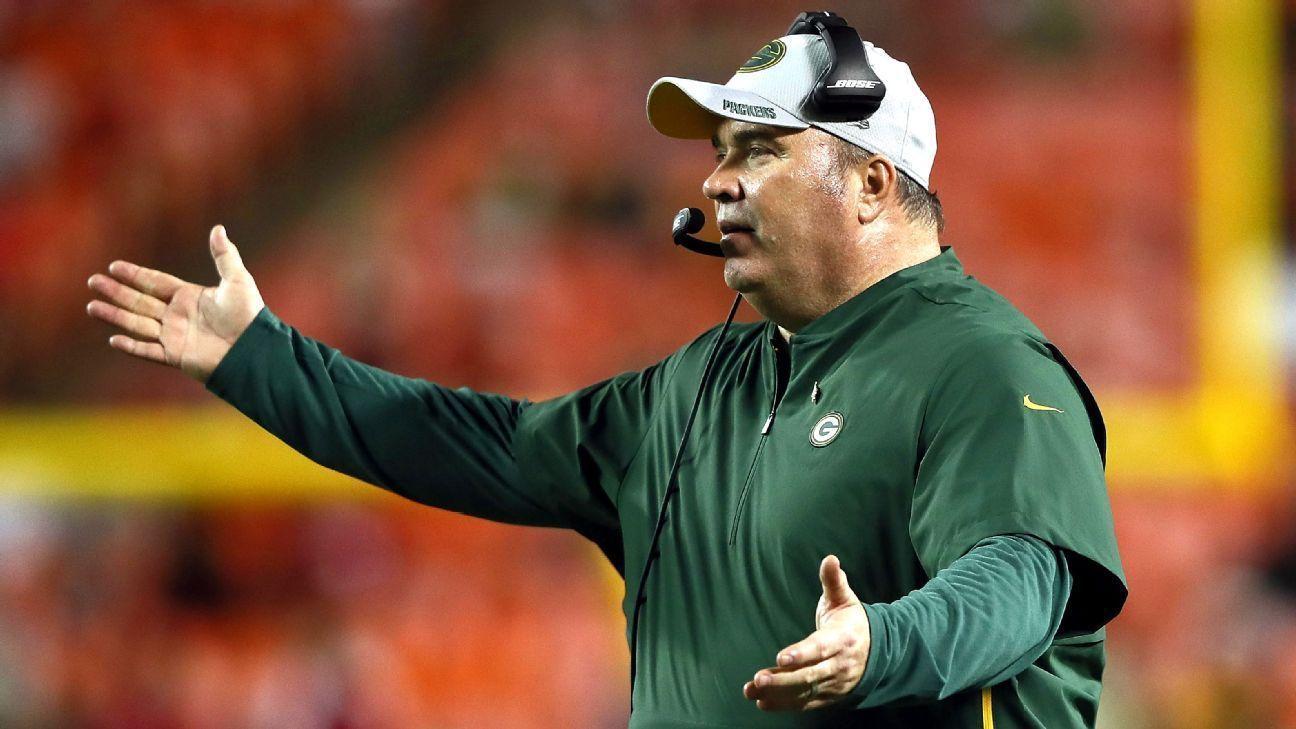 Mike McCarthy no muestra temor ante su futuro con los Packers
