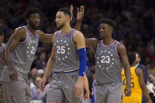 Jimmy Butler on 76ers: 'With this group of guys, it is really easy'